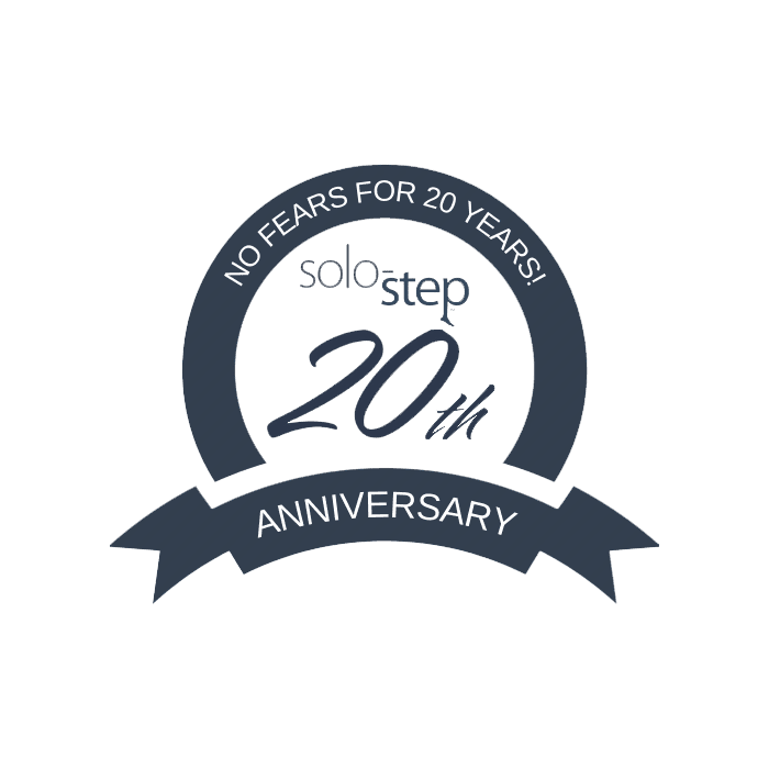 Solostep 20th logo